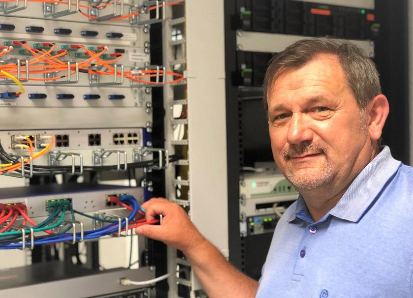 Marian Lizurek, Abteilungsleiter Elektro- und Prozessleittechnik Kläranlage