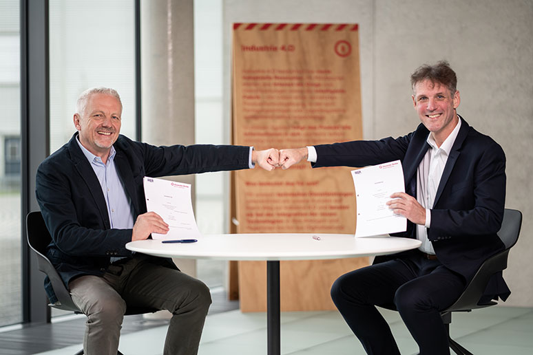 Kooperationspartnerschaft HWI IT und Alexander Bürkle